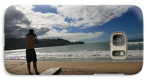 Galaxy Case featuring the photograph Soul Surfer by Lennie Green