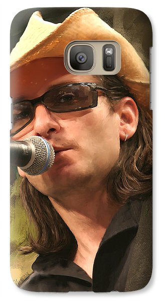 Galaxy Case featuring the painting Southern Voice by Robert Smith