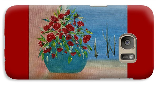 Galaxy Case featuring the painting Southwestern 1 by Judith Rhue