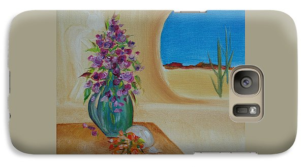 Galaxy Case featuring the painting Southwestern 3 by Judith Rhue