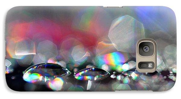 Galaxy Case featuring the photograph Sparks by Sylvie Leandre