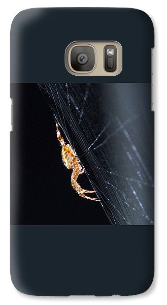 Galaxy Case featuring the photograph Spider Solitaire by Chris Anderson