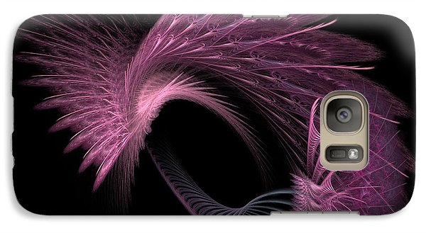Galaxy Case featuring the digital art Spinning Wheel by Kathleen Holley