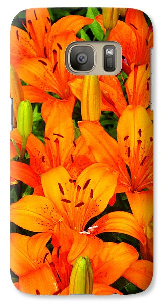 Galaxy Case featuring the photograph Spiritual Bouquets At St. Francis Cathedral by Susanne Still