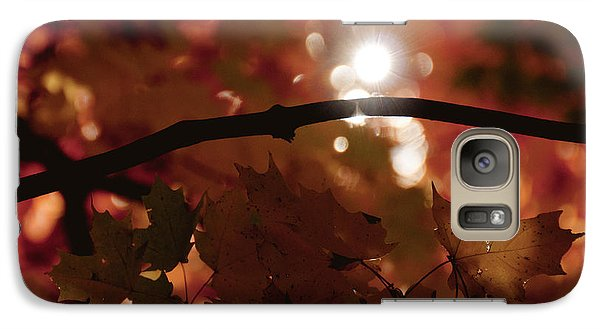 Galaxy Case featuring the photograph Spotlight On Fall by Cheryl Baxter