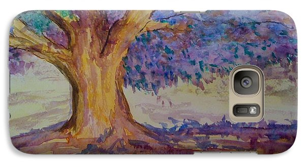 Galaxy Case featuring the painting Spring Beauty by Judi Goodwin