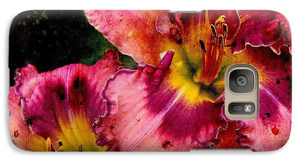 Galaxy Case featuring the photograph Spring Blooms by Davandra Cribbie
