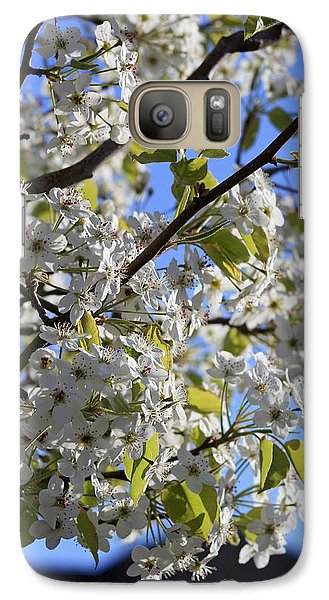 Galaxy Case featuring the photograph Spring Blooms by Kay Novy