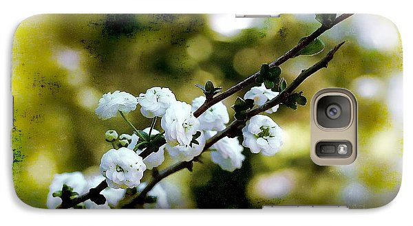 Galaxy Case featuring the photograph Spring Bough by Judi Bagwell