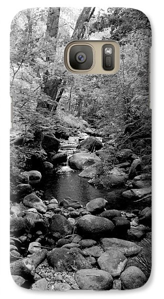 Galaxy Case featuring the photograph Spring Creek by Kathleen Grace
