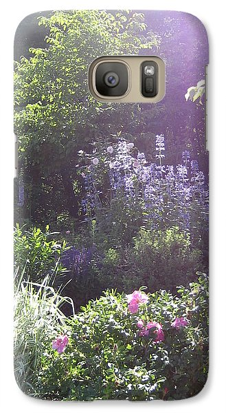 Galaxy Case featuring the photograph Spring Garden by Bonnie Goedecke