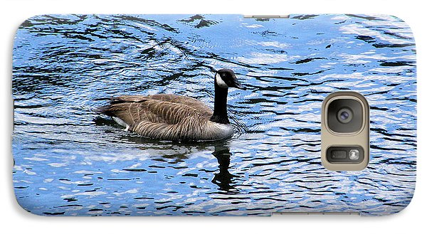 Galaxy Case featuring the photograph Spring Goose by Wendy McKennon