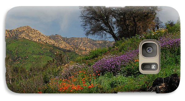 Galaxy Case featuring the photograph Spring In Santa Barbara by Lynn Bauer