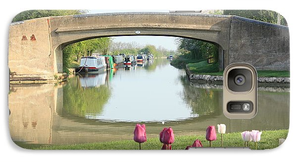 Galaxy Case featuring the photograph Spring On The Oxford Canal by Linsey Williams