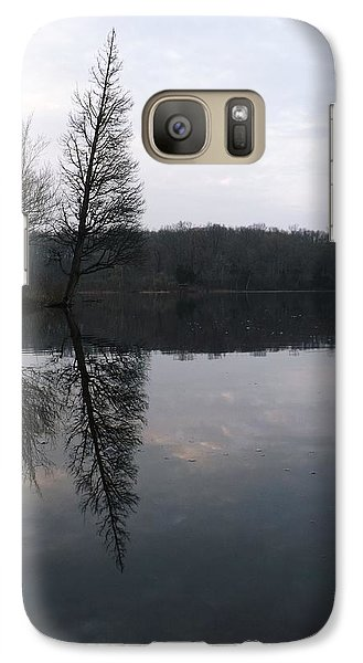 Galaxy Case featuring the photograph Spring Reflection  by Gerald Strine