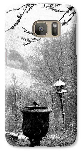 Galaxy Case featuring the photograph Spring Snowstorm 2012 by Susanne Still