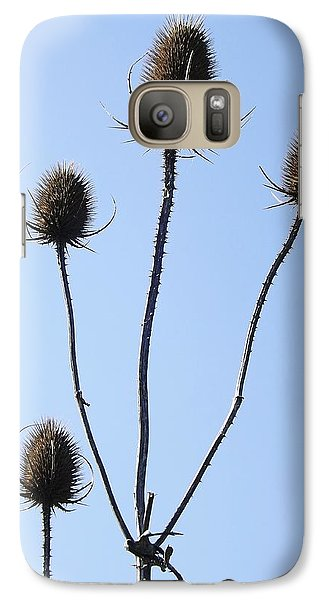 Galaxy Case featuring the photograph Spring Weeds 1 by Gerald Strine