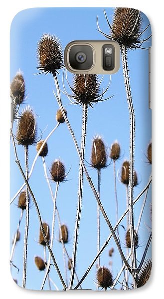 Galaxy Case featuring the photograph Spring Weeds 2 by Gerald Strine