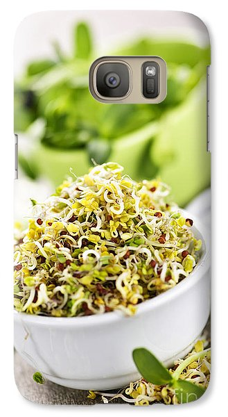 Sprouts In Cups Galaxy S7 Case by Elena Elisseeva