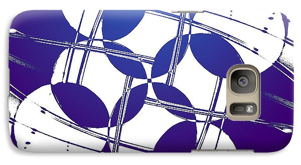 Galaxy Case featuring the photograph Square Circles by Lauren Radke