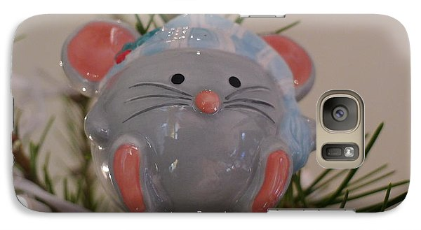 Galaxy Case featuring the photograph Squeaky Xmas by Richard Reeve