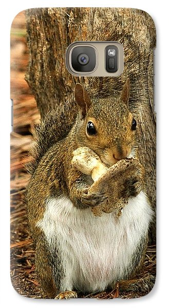 Galaxy Case featuring the photograph Squirrel On Shrooms by Rick Frost