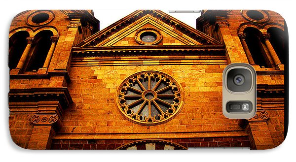 Galaxy Case featuring the photograph St. Francis Basilica Cathedral by Susanne Still