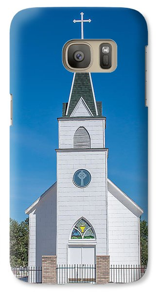 Galaxy Case featuring the photograph St. John The Evangelist Catholic Church by Fran Riley