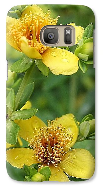 Galaxy Case featuring the photograph St John's-wort by Bruce Bley