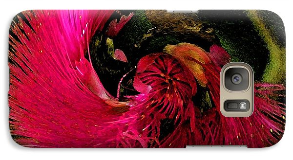 Galaxy Case featuring the photograph St Kitts Flora by Cindy Manero