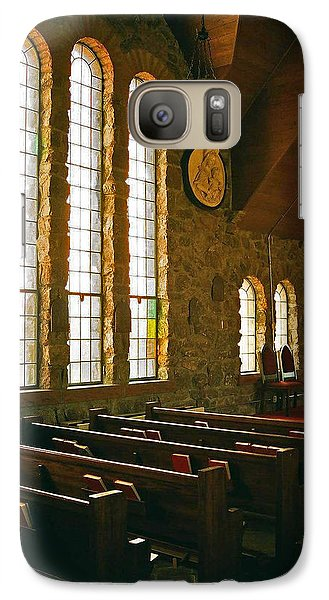 Galaxy Case featuring the photograph St Malo Church by David Pantuso