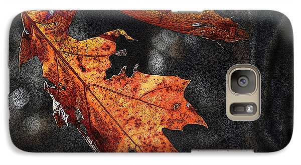 Galaxy Case featuring the photograph Stained Glass In The Forest Cathedral by William Fields
