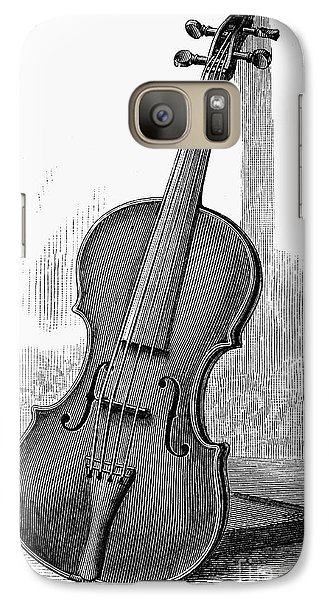 Violin Galaxy S7 Case - Stainer Violin by Granger