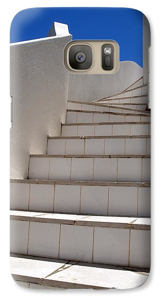 Galaxy Case featuring the photograph Stair To The Sky by Michael Canning