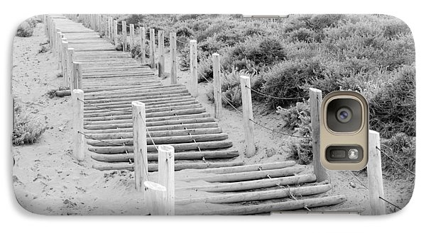 Galaxy Case featuring the photograph Stairs At Baker Beach by Shane Kelly