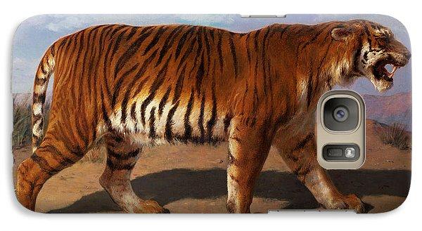 Stalking Tiger Galaxy S7 Case