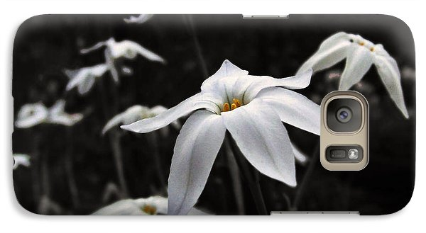 Galaxy Case featuring the photograph Star Flowers by Deborah Smith