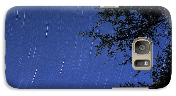 Galaxy Case featuring the photograph Stars Falling by Kay Lovingood
