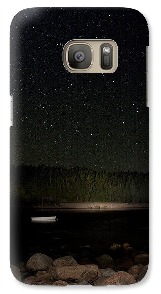 Galaxy Case featuring the photograph Stars Over Otter Cove by Brent L Ander
