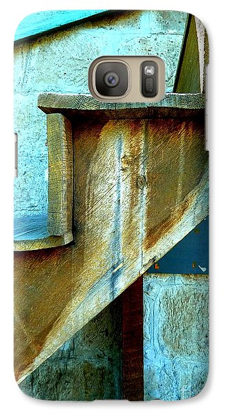 Galaxy Case featuring the photograph Stepping Up To The Blues by Newel Hunter