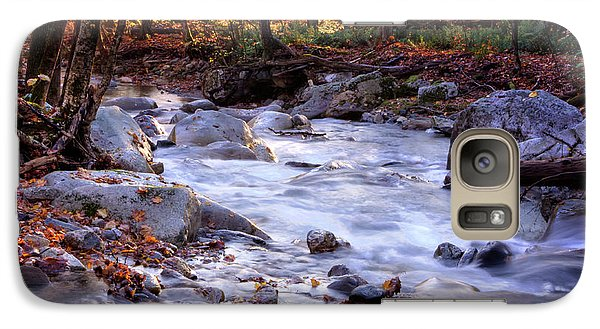 Galaxy Case featuring the photograph Stickney Brook by Tom Singleton