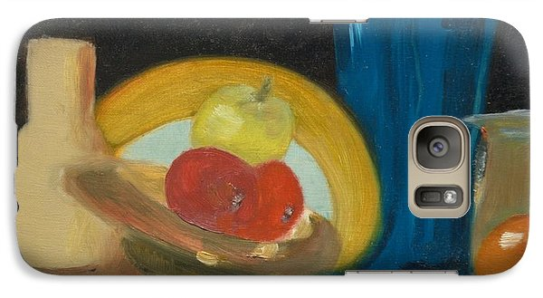 Galaxy Case featuring the painting Still Life Of Fruit by Bernadette Krupa