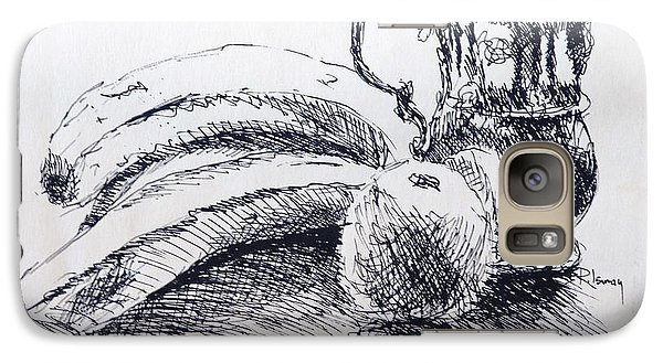 Galaxy S7 Case featuring the drawing Still Life by Rod Ismay
