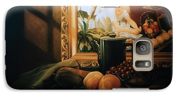 Still Life With Hopper Galaxy S7 Case
