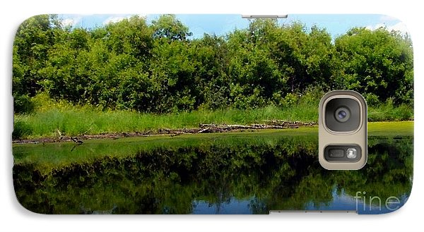 Galaxy Case featuring the photograph Still Water by Jim Sauchyn