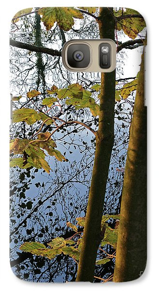 Galaxy Case featuring the photograph Still Waters In The Fall by Andy Prendy