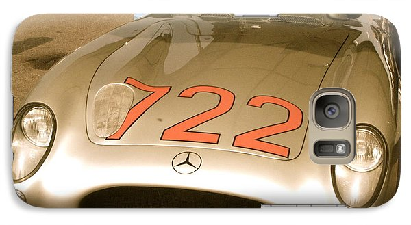 Galaxy Case featuring the photograph Stirling Moss 1955 Mille Miglia 722 Mercedes by John Colley