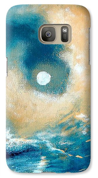 Galaxy Case featuring the painting Storm by Ana Maria Edulescu