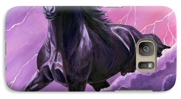 Galaxy Case featuring the painting Storm Chaser by Sheri Gordon