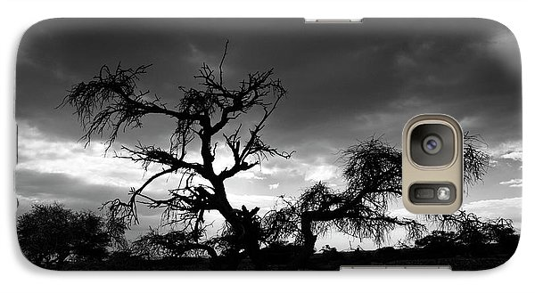 Galaxy Case featuring the photograph Storm Clouds. by Arik Baltinester